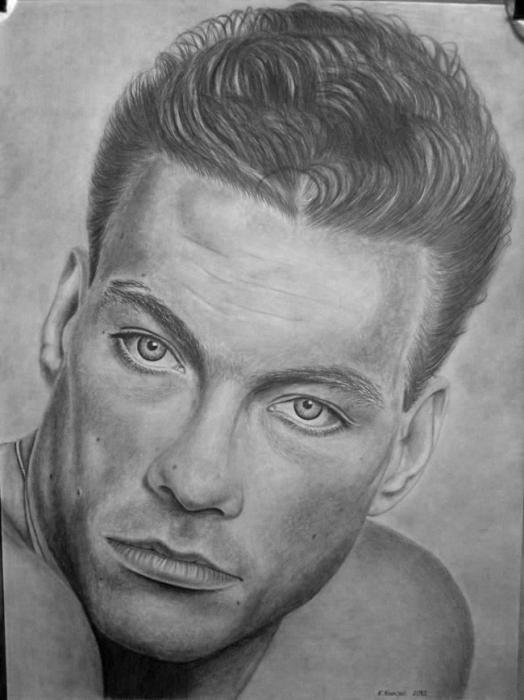 Jean-Claude Van Damme by StallaPolska
